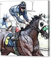 Racetrack Dreams 8 Canvas Print