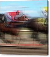 Racetrack Dreams  Canvas Print