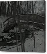 Rachel Carson Trail Bridge Canvas Print