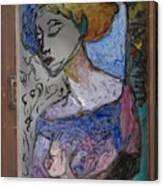 Rachel In Reverse Canvas Print