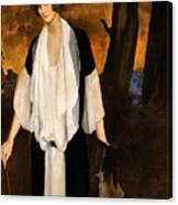 Rachel Strong By Leon Bakst 1924 Canvas Print