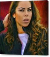 Rachel's Look Canvas Print