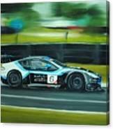 Racing Car Canvas Print