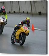 Racing In The Rain Canvas Print