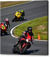 Racing Through Turn 11 Canvas Print