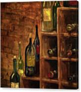 Racked Wine Canvas Print