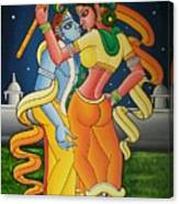 Radakrishna Canvas Print