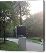 Radar Camera Canvas Print