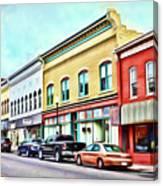 Radford Virginia - Along Main Street Canvas Print