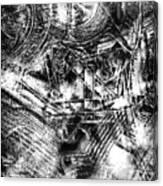 Radiance In Monochrome  Canvas Print
