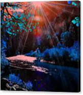 Radiant Energy Canvas Print