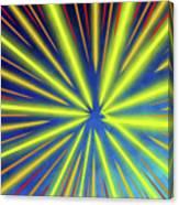 Radiant Flow 3 Canvas Print
