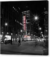 Radio City Colors Canvas Print