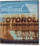 Radio Communications Canvas Print