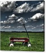 Radio Flyer Canvas Print