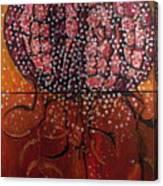 Radiolaria Canvas Print