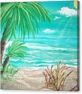 Raelee's Beach Canvas Print