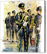 Raf Military Parade In York Canvas Print