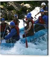 Rafting Rapture Canvas Print