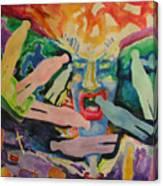 Rage Of Depression Canvas Print