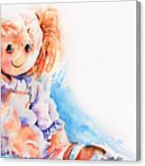 Raggedy Rosie Canvas Print