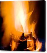 Raging Bonfire Canvas Print