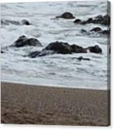 Raging Sea Canvas Print