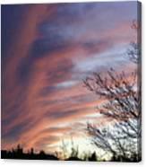Raging Sky Canvas Print