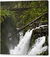 Raging Water Fall Canvas Print