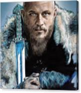 Ragnar Lothbrok Canvas Print