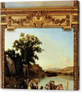 Rahoult Charles Diodore Allegory Of Spring Canvas Print
