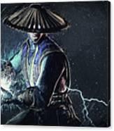 Raiden - Mortal Kombat Canvas Print