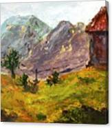 Raigad Fort 4 Canvas Print