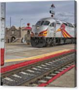 Rail Runner Train Albuquerque Nm Sc02985 Canvas Print