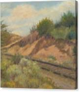 Rail To Lamy Canvas Print