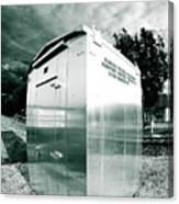 Railroad Box 86 Canvas Print