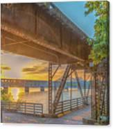 Railroad Bridge12 Canvas Print