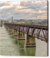 Railroad Bridge3 Canvas Print