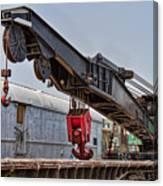 Railroad Crane Canvas Print