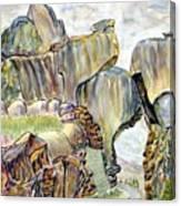 Railroad Pass Canvas Print