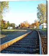 Railroad S-curve Canvas Print