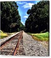 East Texas Tracks Canvas Print