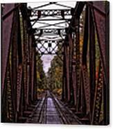 Railroad Trestle Canvas Print