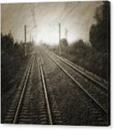 Rails Canvas Print