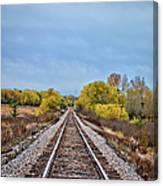 Rails To Parkersburg 2 Canvas Print