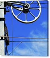 Railway Catenary Canvas Print