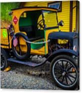 Railway Maintenance Truck Canvas Print