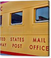 Railway Post Office Canvas Print
