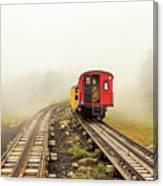 Railway To The Summit Canvas Print