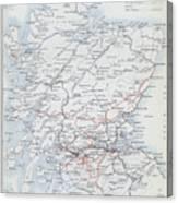 Railways Of Scotland Canvas Print